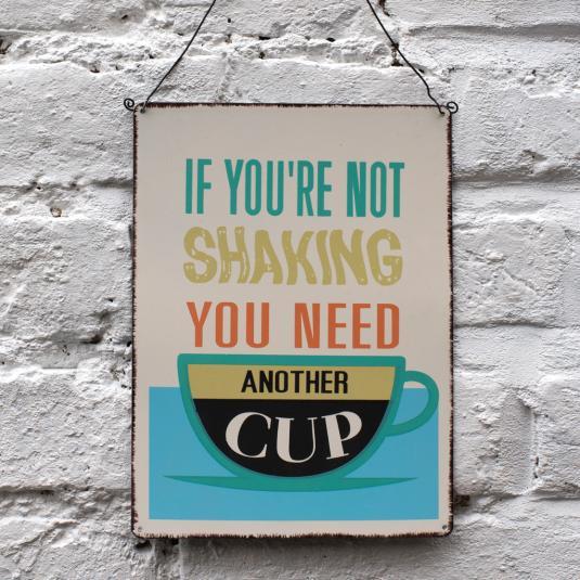 Coffee Lovers Wall Sign