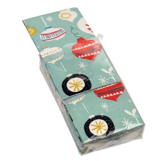 Pack Of 12 Jolie Noel Christmas Tissues