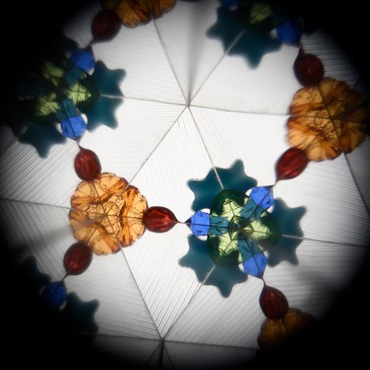 Circus print kaleidoscope