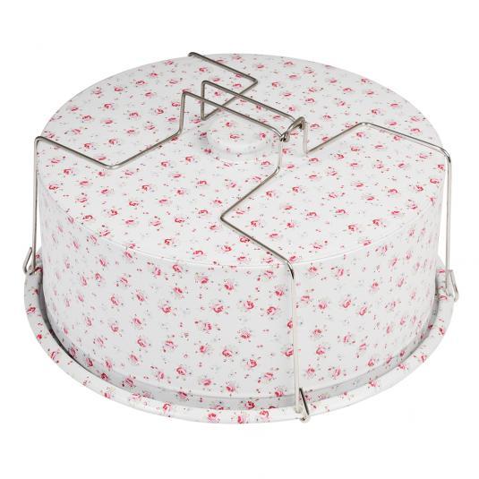 La Petite Rose Design Cake Carrier