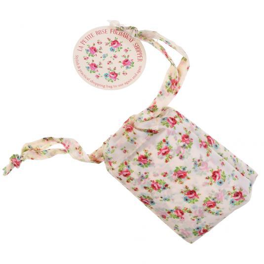 La Petite Rose Foldaway Shopper Bag
