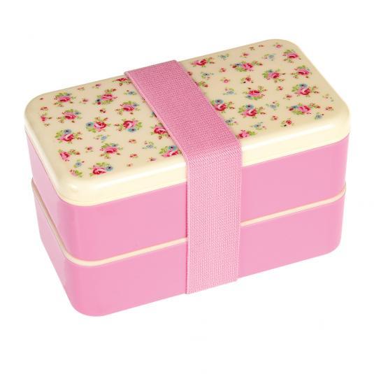 La Petite Rose Pilk floral Adult Bento Box