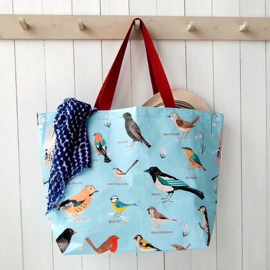 Large Garden Birds Shopping Bag