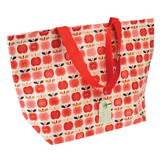 Large Vintage Apple Eco-friendly Shopper Bag