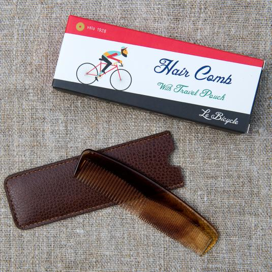 Men's Comb In A Le Bicycle Design Gift Box