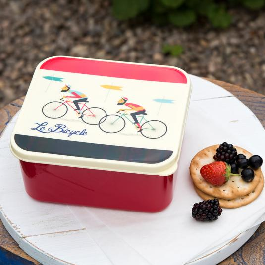 Le Bicycle mans Lunch Box