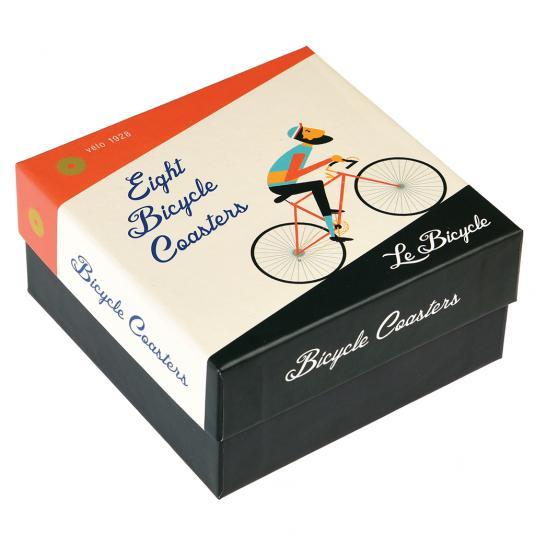 Le Bicycle Coaster Set