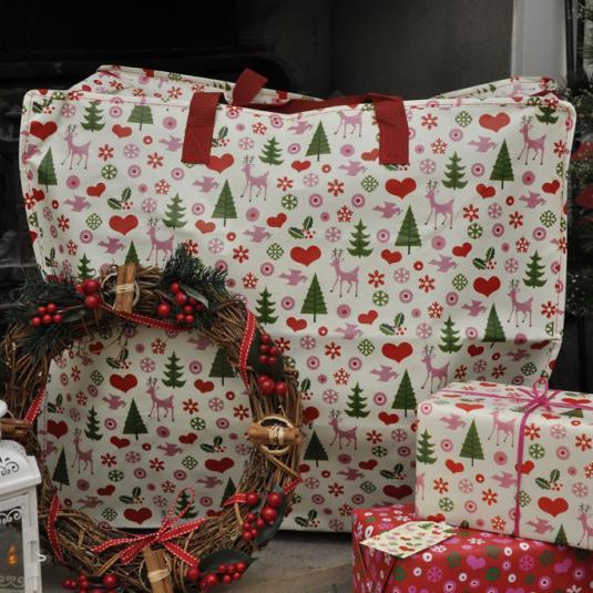 Christmas Design Jumbo Storage Bag