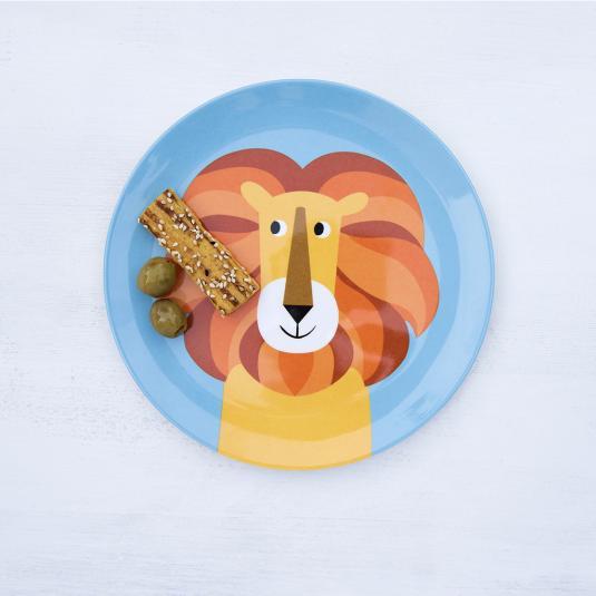Charlie The Lion Melamine Plate