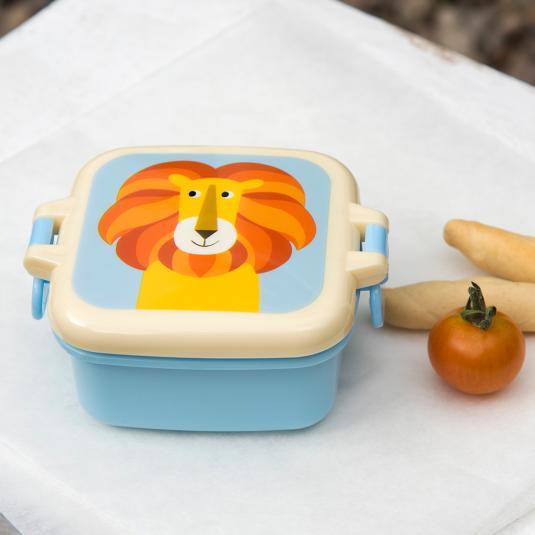 Colourful Creature kid's Mini Snack box- Lion