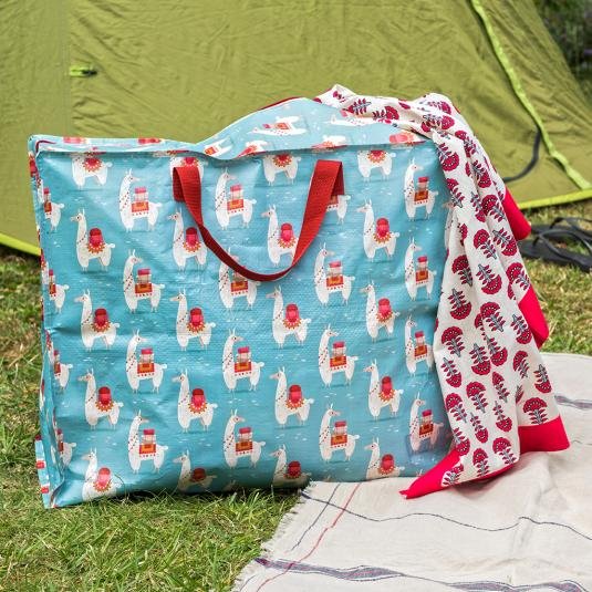 llama storage bag for laundry travel and garden storage