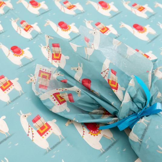Llama tissue paper (set of 10)