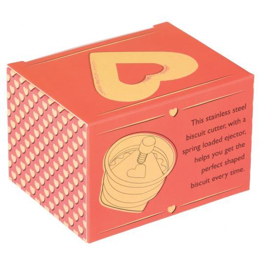 Love Heart Biscuit Cutter in a Box