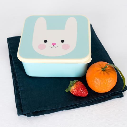 Bonnie the Bunny BPA free plastic lunch box
