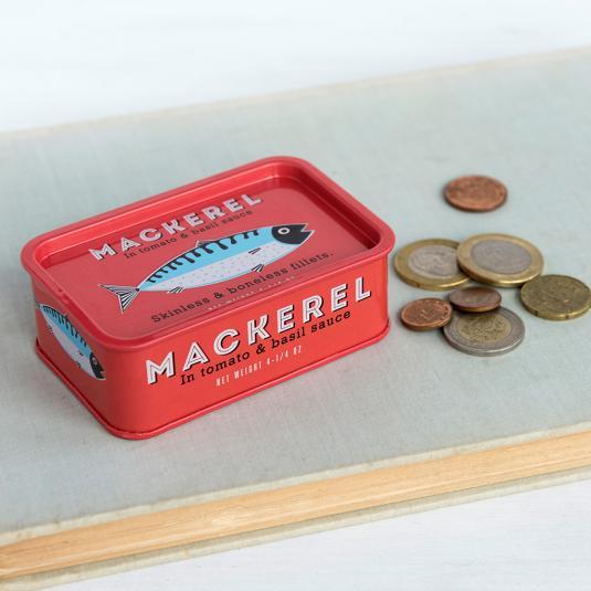 Mackerel Kitchen Trinket Tin