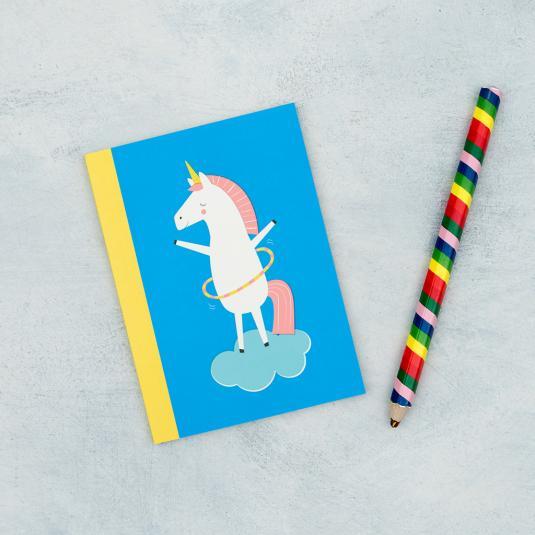 Unicorn lined notebook