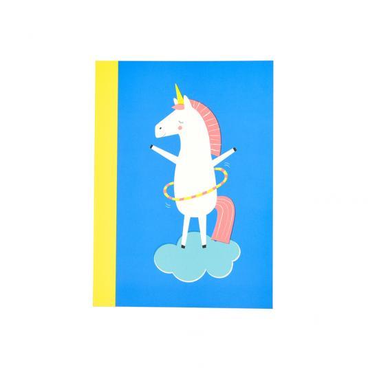Magical Unicorn A6 Notebook