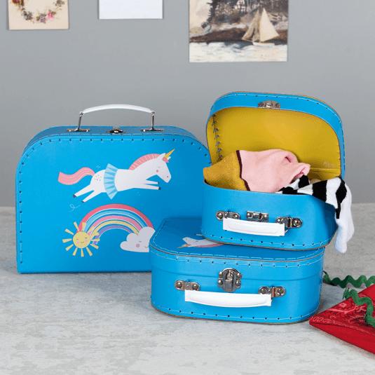 Magical Unicorn nesting storage ases