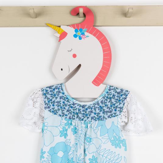 Unicorn children's clothes hanger