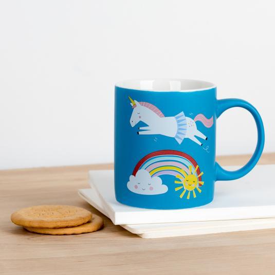 Magical Unicorn ceramic mug in a box