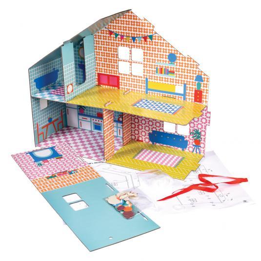 Paper Craft Dolls House