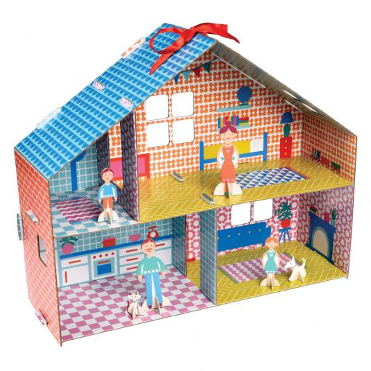 Make Your Own Paper Dolls House