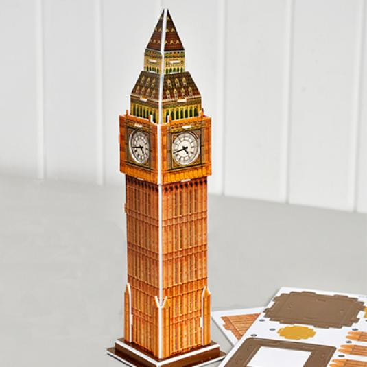 Make Your Own Landmark Big Ben