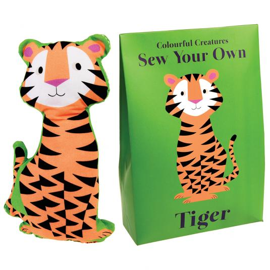 Make Your Own Kit Tiger In A Bag