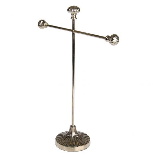 Mathilde Silvered Brass Jewellery Stand