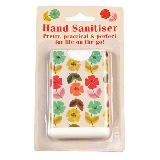 Mid Century Poppy Flora Pocket Hand Sanitiser