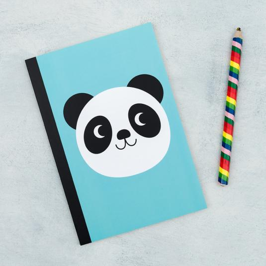 A5 lined Miko the Panda notebook