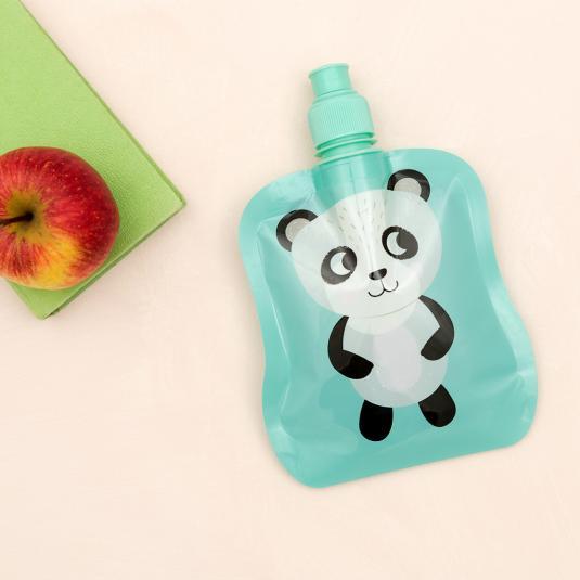 Miko The Panda Folding Water Bottle