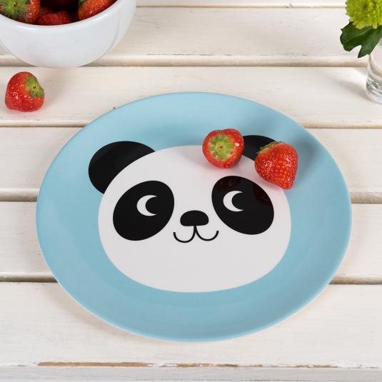 Miko The Panda Melamine Plate
