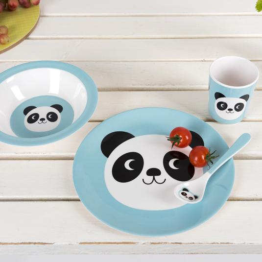 Miko The Panda Melamine Set