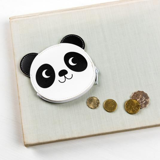 Miko Panda Vinyl Purse