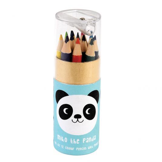 Children's Panda Colouring Pencils (set Of 12)