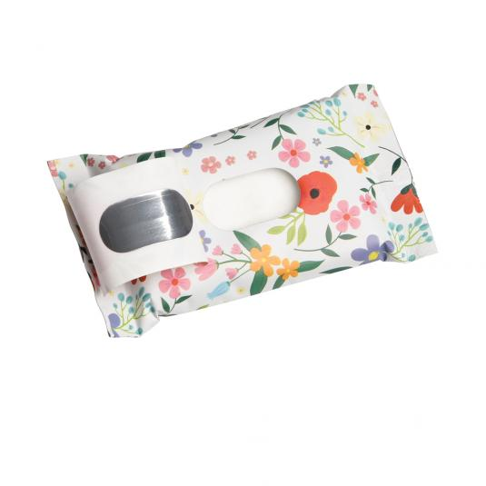 Flower Print Pack of Mini Wet Wipes