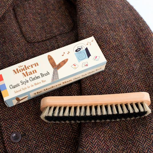Modern Man Clothes Brush