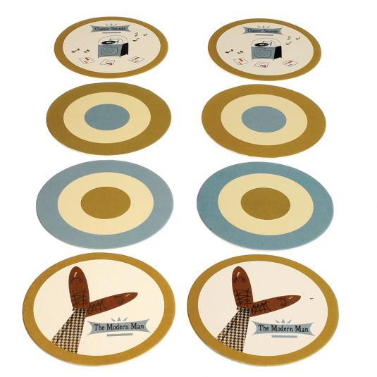Modern Man Coasters