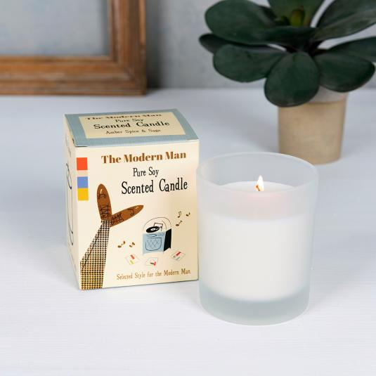 Modern Man Boxed Scented Candle