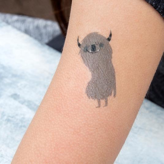 Monster Temporary Tattoo