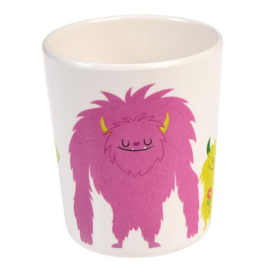monsters of the world print small kid's melamine cup