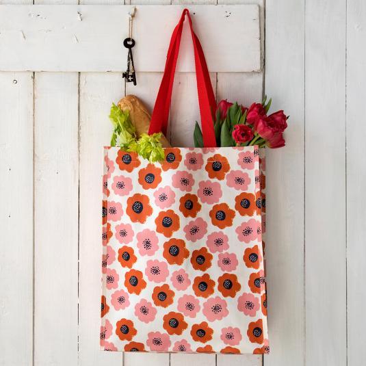 Poppy shopping bag