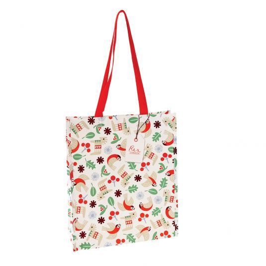 Nordic Christmas shopping bag