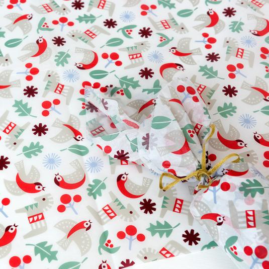10 Sheets of High Quality Gift Wrapping Tissue Paper Choice of Design Spotty Celebration