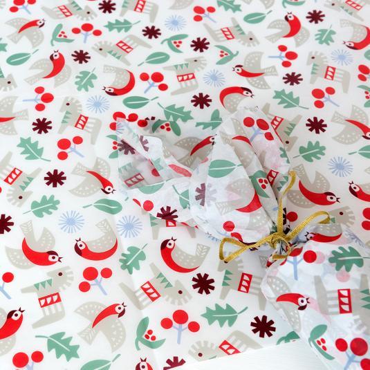 Nordic Christmas tissue paper