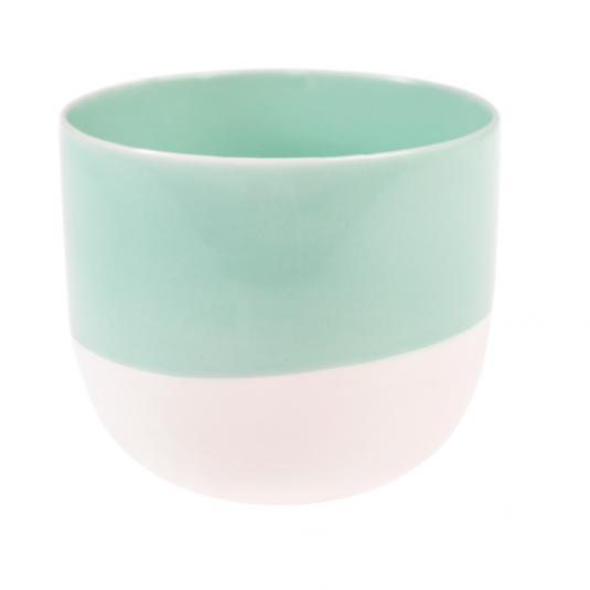 Paloma Tea Light Holder Aqua Blue