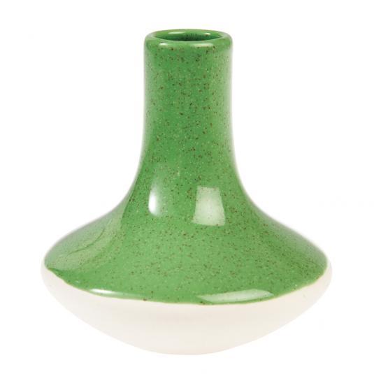 Paloma Ceramic Candle Holder Green