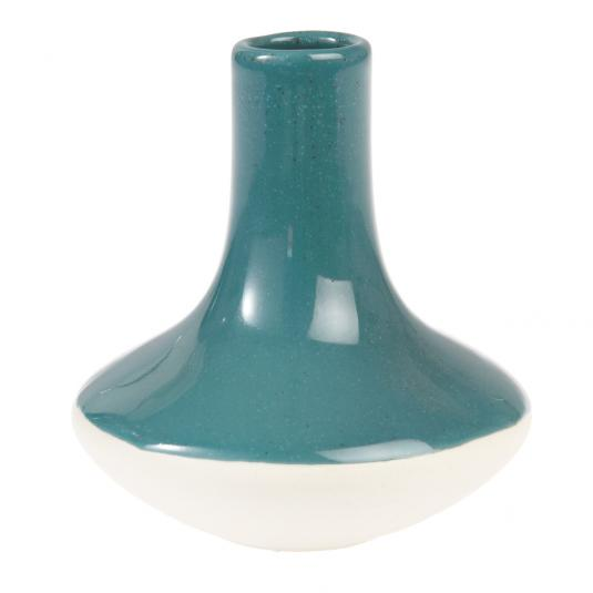 Paloma Ceramic Candle Stick Dark Blue