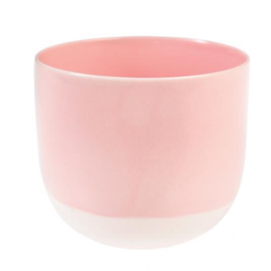 Baby Pink Dipped Tea Light Holder